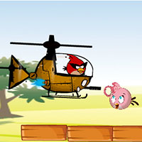 game Angry Birds Hero Helicopter