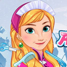 game Anna Frozen Hair Spa