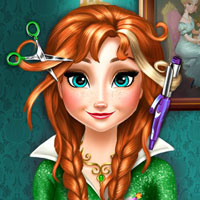 game Anna Frozen Real Haircuts
