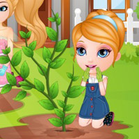 game Baby Barbie Learns Gardening