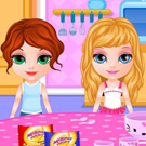 game Baby Barbie Slumber Party