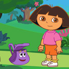 game Baby Dora Bubble Trouble