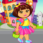 game Baby Dora Goes To School