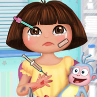 game Baby Dora Hand Doctor