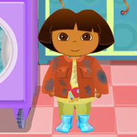 game Baby Dora Hygiene Care