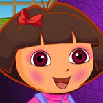 game Baby Dora Outing Beauty Make Up
