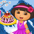 game Baby Dora Royal Cake