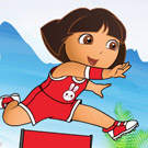 game Baby Dora Running Dress Up