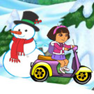 game Baby Dora Winter Ride