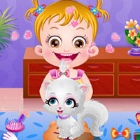 game Baby Hazel Naughty Cat