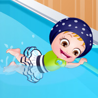game Baby Hazel Swimming Time
