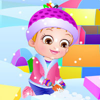 game Baby Hazel Winter Fun