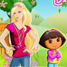 game Barbie and Baby Dora