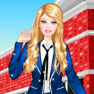 game Barbie At College Dress Up