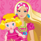 game Barbie Baby Sitter