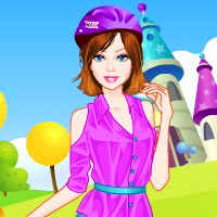 game Barbie Bike Ride Dress Up