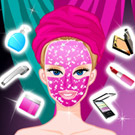 game Barbie Diamond Spa Makeover