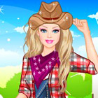 game Barbie Farmer Princess Dress Up
