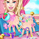 game Barbie Nails Spa