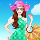 game Barbie Summer Break Dress Up