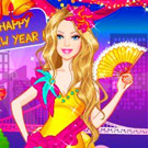game Barbies New Years Eve Dress Up