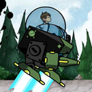 game Ben 10 Robot Jet War
