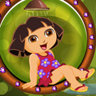 game Cute Dora Bathing