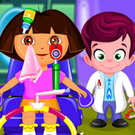 game Dora At Eye Clinic