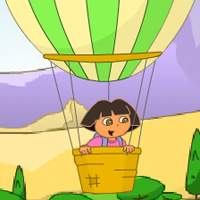 game Dora Balloon Express