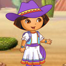 game Dora Barn Activities