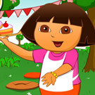game Dora Cake Berry Shop