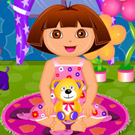 game Dora Diaper Change