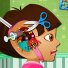 game Dora Ear Doctor