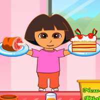 game Dora Family Resturent