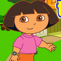 game Dora Go to The Farm