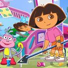 game Dora Groom The Room