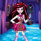game Draculaura Back to School