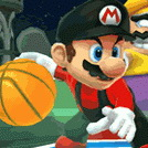 game Mario Basketball