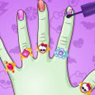 game Monster High DIY Nails