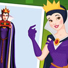 game Princesses vs Villains Halloween Challenge