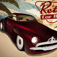 game Retro Car Rush