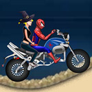 game Spiderman Halloween Racing