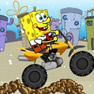 game SpongeBob Snowbike