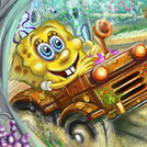 game Spongebob Tractor
