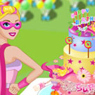 game Super Barbie Birthday Cake