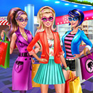 game Super Barbie Shopping Day