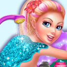 game Super Barbie Spa Day